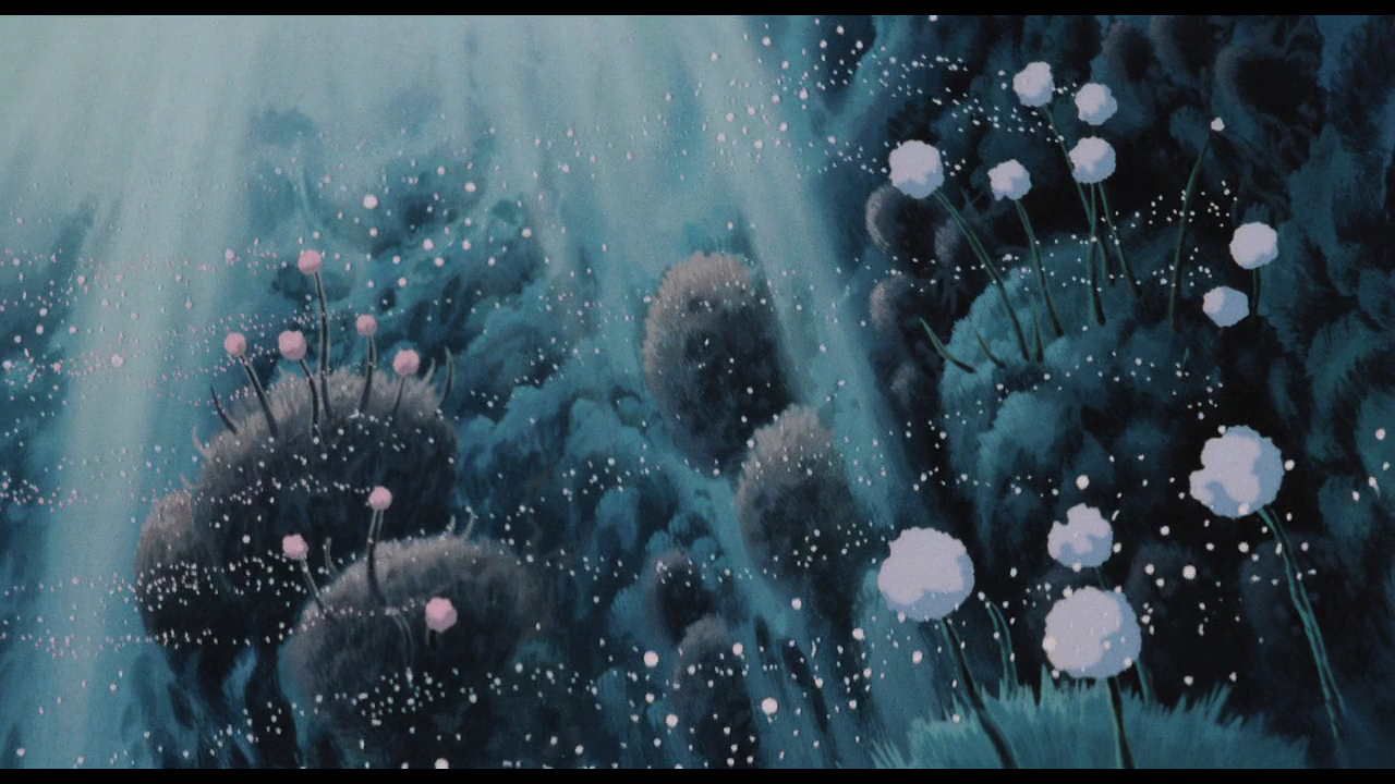 the issues of environment pollution in the film nausicaa of the valley of wind
