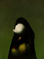 "Christian Rex van Minnen. Abstract Figurative 2.2. 2007. Oil Canvas. 48"" x 36"""