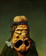 "Christian Rex van Minnen. Abstract Figurative 2.6 2007. Oil Canvas. 18"" x 24"""