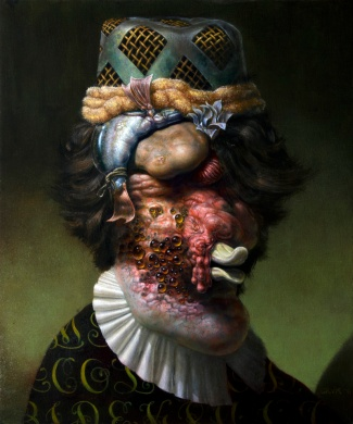 "Christian Rex van Minnen. Grody Deets Legacy. 2011. Oil Canvas. 28"" x 22"""